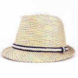 Sombrero del sombrero de ala del papel de paja de la manera