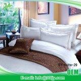 低価格の白いホテルの綿シートセット
