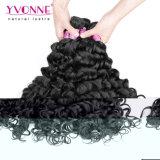 Armadura peruana del pelo humano de Remy de la venta al por mayor del pelo de Yvonne