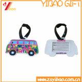Étiquette molle faite sur commande de bagage de PVC pour se déplacer (YB-LT-05)