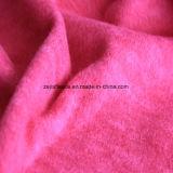陽イオンの印刷の効果のマイクロ羊毛、ジャケットファブリック(peachpuff)