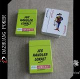 Jeg Zufuhr Lokait Papier-Spielkarten