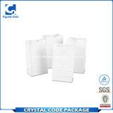 Рециркулированный OEM плоский белый мешок Kraft бумажный