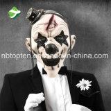 Máscara negra asustadiza del payaso de la máscara del payaso de Víspera de Todos los Santos para el partido de Víspera de Todos los Santos