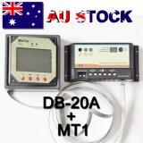 Medidor remoto para o controlador da potência solar da Duplo-Bateria com indicador do LCD