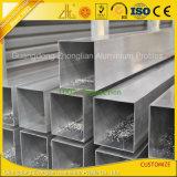 양극 처리된 알루미늄 알루미늄 밀어남 합금 사각 또는 둥글거나 편평한 또는 타원형 관
