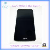 Pantalla táctil elegante móvil del teléfono celular LCD para la aguja 3 Ls777 más del LG G