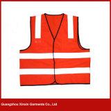 Gilet r3fléchissant de garantie de police pour la vente en gros (W57)