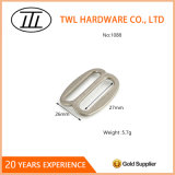 Boucle carrée en alliage de zinc de boucle de courroie en métal pour le sac à main réglable