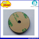 Schwarze Farbe 13.56MHz RFID Identifikation-Prüfpunkt-Marken