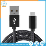 Type de téléphone mobile personnalisé-C câble du chargeur de données USB