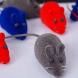 Flocado Productos para Mascotas juguetes gato gatito cachorro de perro de juguete juego falso Ratón Rat Sonido Ruido Squeak Toys