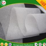 La hoja superior pañal hidrófila Nonwoven en relieve de aire caliente