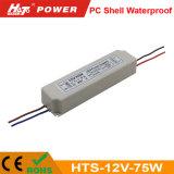 Hts da fonte de alimentação do interruptor do transformador AC/DC do diodo emissor de luz de 12V 6A 75W