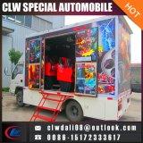 5D移動式映画スクリーニングのトラック、安い価格の移動式映画館