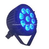 Qualität LED 9X12W RGBWA 5 in 1 im Freiennennwert Licht