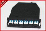 12 vassoio monomodale ottico del cavo della fibra MTP MPO di memorie modulare