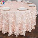 Оптовая торговля полиэфирная ткань за круглым столом для проведения свадеб отель Hly-Tc08