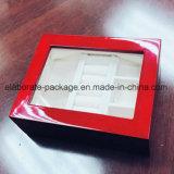 Regalo de madera del final de gama alta del lustre de la artesanía/caja de embalaje de la joyería