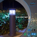 IP65 indicatore luminoso solare esterno del prato inglese dell'alluminio LED per il giardino