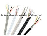 Cámara RG6 Rg59 CCTV Cable con cables de alimentación