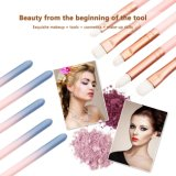 12pcs Maquillage professionnel Brosse réglée dans le cas du vérin de rose