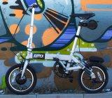 14 pulgadas 3 segunda bicicleta eléctrica plegable con Motor sin escobillas