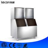 Cubo de hielo de Lecon LC-2200t que hace el fabricante de hielo de la máquina