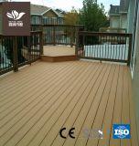Jardim exterior Material Verde WPC Deck Pavimento