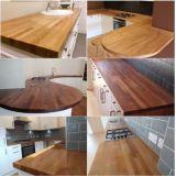 木製のパネルのクルミの木製のテーブルの上の木製の平板の終了する木製のボード