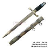 유럽 회검 기병의 칼 홈 훈장 서쪽 역사적인 회검 39cm