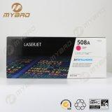 Cartucho de toner del color CF360A CF361A CF362A CF363A para HP 508A