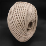 Белый хлопок веревки хлопка String хлопка скручивание веревки экранирующая оплетка троса
