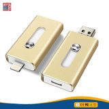 4G 8g 16g 32g 64G 128g 3 in 1 Typen Pendrive OTG USB-Blitz-Laufwerk USB-3.0 für iPhone u. Android u. PC