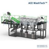 Grüne Technologie verunreinigte Plastikabfallzerkleinerung-waschendes trocknendes System