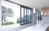 Prueba de calor sana doble de las puertas deslizantes de la aleación de aluminio un &L Windows