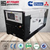 Type de silencieux générateur diesel refroidi par eau générateur portatif 15kVA