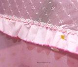 Poliéster barato Ronda Cuna plegable mosquitero con almohada
