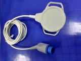 Sonda ultrasonica del trasduttore del video del feto dei sensori di frequenza cardiaca