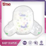 Pañal seco estupendo absorbente rápido del bebé de la nueva de la característica base absorbente del pañal 3D