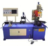 Yj-355ЧПУ автоматическая подача вакуумного усилителя тормозов синего цвета металлического трубопровода реза пилы машины