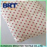 Rote Punkttartan-Polyester-Rohseide-wasserdichter Kissenbezug