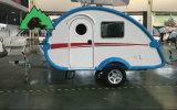 De mini Kampeerauto die van de Aanhangwagen van de Caravan van de Traan het Kamperen Aanhangwagen produceren