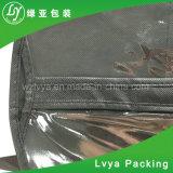 Sacos de vestuário não tecidos amigáveis de Eco com o indicador do PVC & tampa desobstruídos do terno