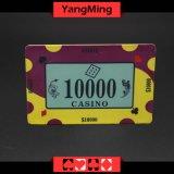 40g progettano Ceramic&#160 per il cliente; Poker Il casinò di ceramica di qualità del casinò dei chip scheggia (YM-CP008)
