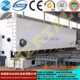 Placa de feixe de Giro Hidráulica CNC cisalhamento e máquina de corte QC12