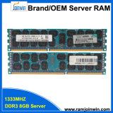 Самый дешевый высокий Performence 1333 Мгц 8ГБ 2r*4 PC3-10600 DDR3 Sever ОЗУ