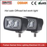 트랙터 LED 램프 3inch를 위한 휴대용 LED 일 빛 10W