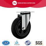 8 Zoll-Schwenker-Plastikkern-Gummieuropa-Typ industrielle Fußrollen
