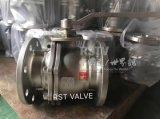 Шариковый клапан фланца плавая шарика 2PC нержавеющей стали бросания